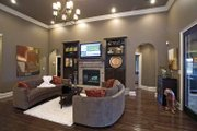 Country Style House Plan - 4 Beds 3 Baths 2525 Sq/Ft Plan #17-2682 Interior - Family Room