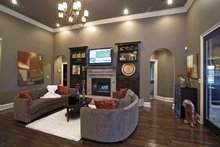Dream House Plan - Country Interior - Family Room Plan #17-2682