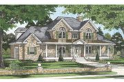 Traditional Style House Plan - 5 Beds 4 Baths 2907 Sq/Ft Plan #929-817 Exterior - Front Elevation