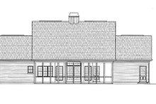 Home Plan - European Exterior - Rear Elevation Plan #119-151