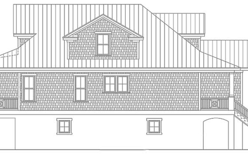 Colonial Exterior - Other Elevation Plan #991-24 - Houseplans.com