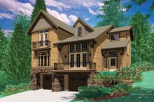 Home Plan - Traditional Exterior - Front Elevation Plan #48-378
