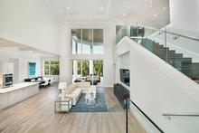Home Plan - Mediterranean Interior - Family Room Plan #1017-159