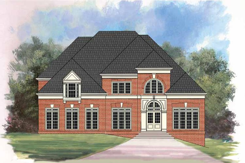 Traditional Exterior - Front Elevation Plan #119-404