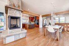 Architectural House Design - Prairie Interior - Dining Room Plan #1042-17