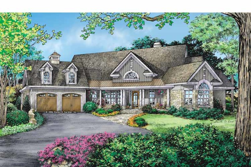 Craftsman Exterior - Front Elevation Plan #929-887 - Houseplans.com