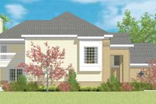 House Blueprint - Traditional Exterior - Other Elevation Plan #72-1095