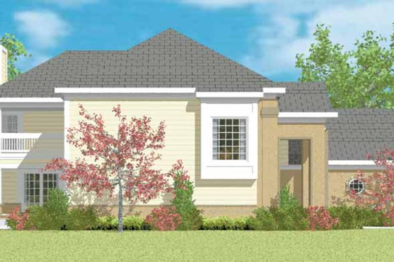 Traditional Exterior - Other Elevation Plan #72-1095 - Houseplans.com