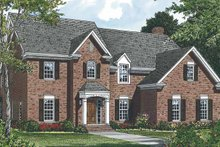 House Plan Design - Country Exterior - Front Elevation Plan #453-490