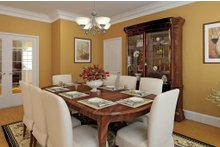 Dream House Plan - Country Interior - Dining Room Plan #929-18