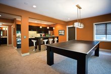 Home Plan - Contemporary Interior - Family Room Plan #928-273
