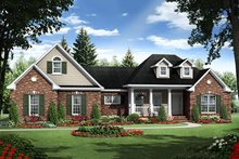 House Plan Design - Traditional, Front Elevation