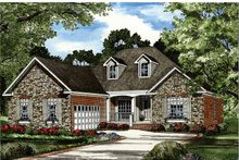 House Plan Design - Traditional Exterior - Front Elevation Plan #17-2887