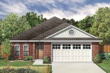 House Plan Design - Traditional Exterior - Front Elevation Plan #84-751