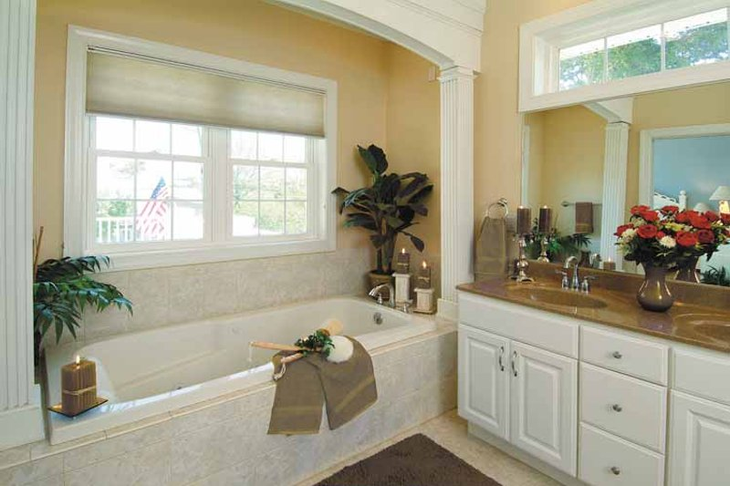 Country Interior - Bathroom Plan #930-81 - Houseplans.com
