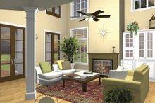 House Plan Design - Traditional Interior - Family Room Plan #44-215