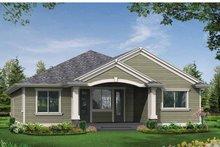 Craftsman Exterior - Rear Elevation Plan #132-530