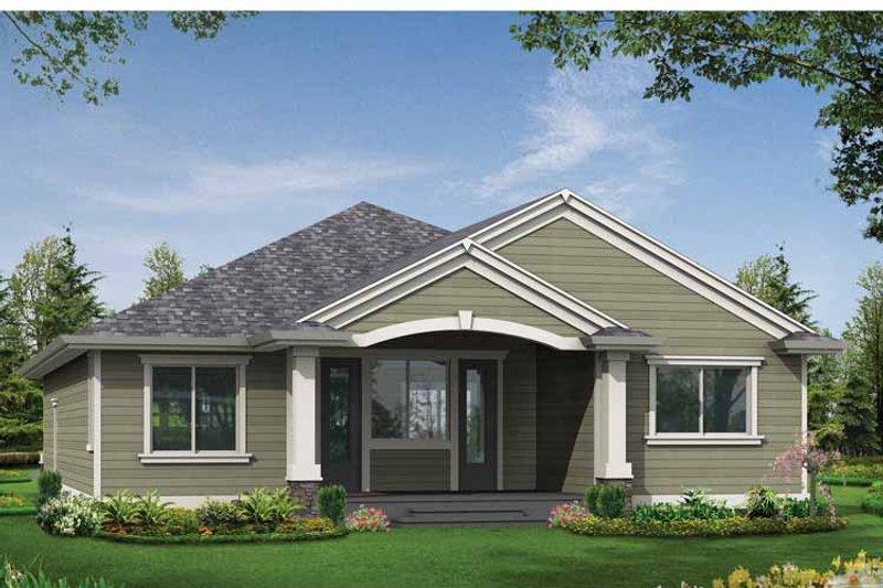 Craftsman Exterior - Rear Elevation Plan #132-530 - Houseplans.com