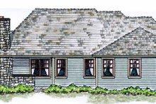 House Plan Design - Cottage Exterior - Rear Elevation Plan #410-3568