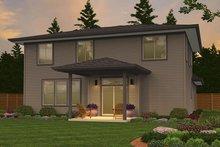 Contemporary Exterior - Rear Elevation Plan #943-49
