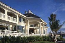 Home Plan Design - Mediterranean Exterior - Rear Elevation Plan #930-412
