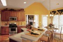 Dream House Plan - Country Interior - Kitchen Plan #927-120