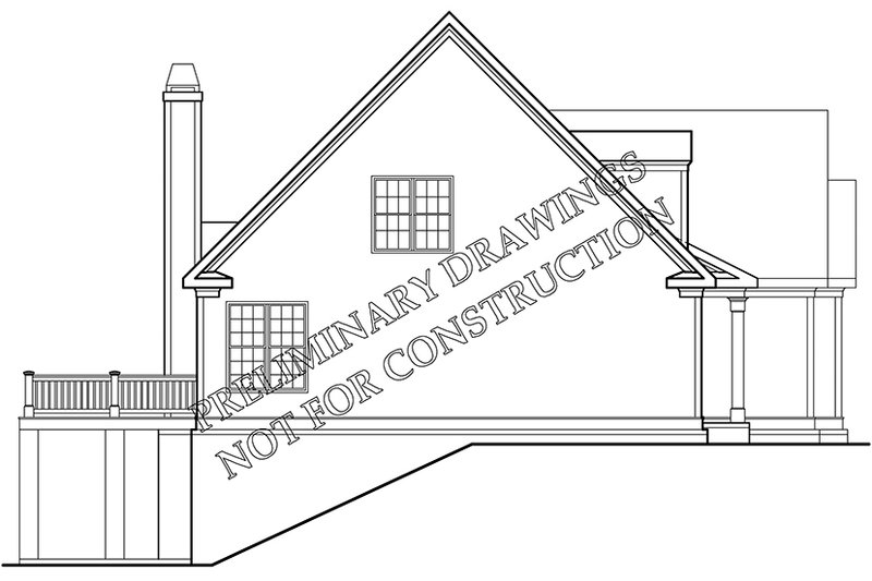Colonial Exterior - Other Elevation Plan #927-973 - Houseplans.com