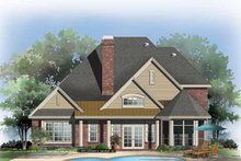 Traditional Exterior - Rear Elevation Plan #929-842
