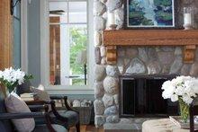 Craftsman Interior - Family Room Plan #928-64