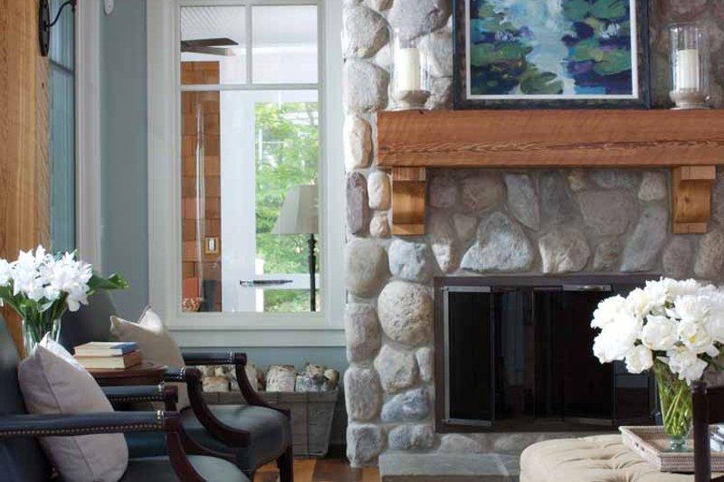 Craftsman Interior - Family Room Plan #928-64 - Houseplans.com
