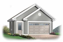 Exterior - Front Elevation Plan #23-2368
