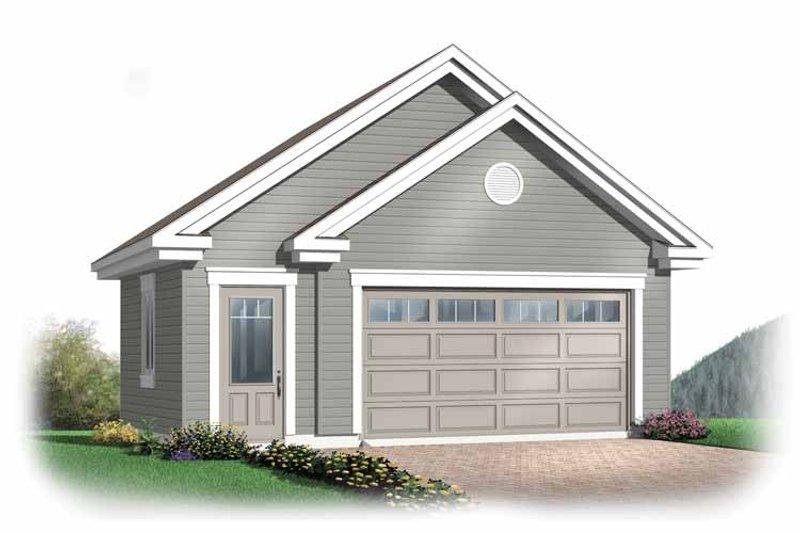 Exterior - Front Elevation Plan #23-2368 - Houseplans.com