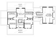 Colonial Style House Plan - 4 Beds 3 Baths 2994 Sq/Ft Plan #137-286