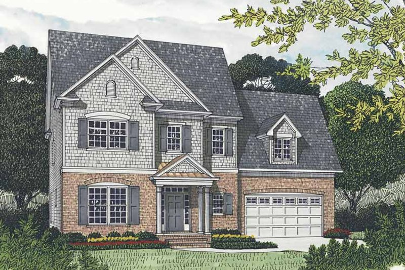 Traditional Exterior - Front Elevation Plan #453-539