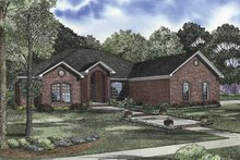 Ranch Exterior - Front Elevation Plan #17-2842