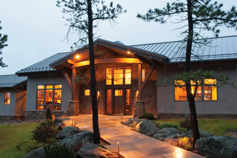 Craftsman Exterior - Front Elevation Plan #1042-15 - Houseplans.com