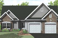 House Plan Design - Ranch Exterior - Front Elevation Plan #1010-27