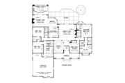 Country Style House Plan - 4 Beds 3 Baths 3140 Sq/Ft Plan #929-955 Floor Plan - Main Floor Plan
