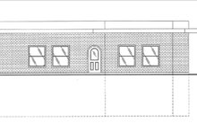 Architectural House Design - Contemporary Exterior - Other Elevation Plan #117-853