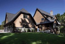 Craftsman Exterior - Rear Elevation Plan #928-32