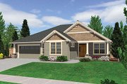 Craftsman Style House Plan - 3 Beds 2 Baths 2000 Sq/Ft Plan #48-241 Exterior - Other Elevation