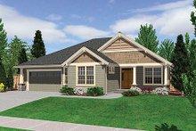 Craftsman Exterior - Other Elevation Plan #48-241