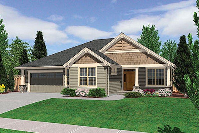 Craftsman Exterior - Other Elevation Plan #48-241 - Houseplans.com