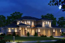 House Plan Design - Modern Exterior - Front Elevation Plan #20-2268