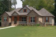 Craftsman Style House Plan - 4 Beds 3 Baths 2655 Sq/Ft Plan #63-189 Exterior - Front Elevation