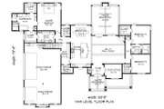 Country Style House Plan - 3 Beds 2.5 Baths 2775 Sq/Ft Plan #932-93 Floor Plan - Main Floor