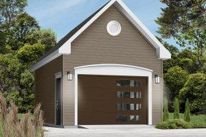 Dream House Plan - European Exterior - Front Elevation Plan #23-429