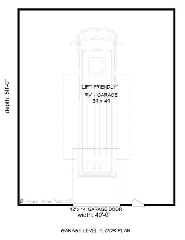 Country Floor Plan - Main Floor Plan #932-88