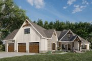 European Style House Plan - 3 Beds 2 Baths 2085 Sq/Ft Plan #923-180 Exterior - Other Elevation