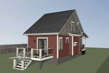 Home Plan - Bungalow Exterior - Other Elevation Plan #79-308